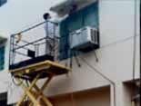 高雄油漆(07)588-8888  外牆防水,彈性水泥漆,免搭鷹架