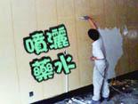 高雄油漆(07)588-8888  藥水噴灑,壁紙處理